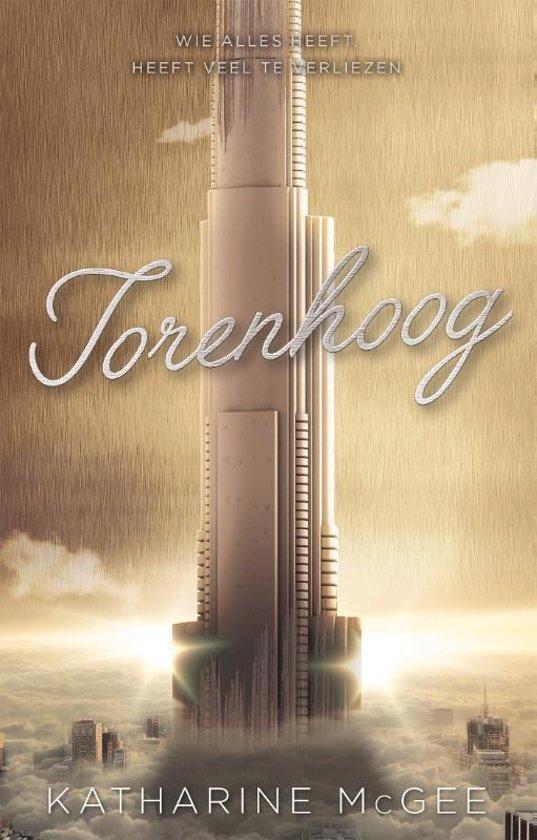 Torenhoog (EN: The Towering Sky) Boek omslag