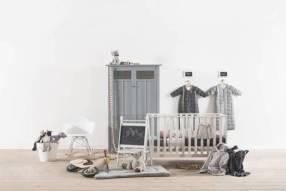 Jollein - Babyslaapzak 4-seizoenen - 110 cm - met afritsbare mouw - Grijs
