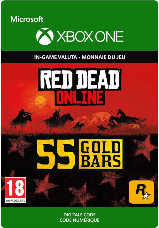 Red Dead Redemption 2: 55 Gold Bars - Xbox One Download