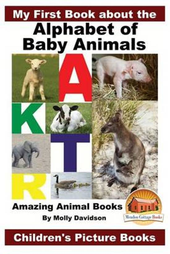 Image of: Sloth Animal My First Book About The Alphabet Of Baby Animals Amazing Animal Books Childrens Picture Bolcom Bolcom My First Book About The Alphabet Of Baby Animals Amazing