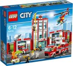 Lego brandweer kazerne