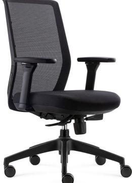 BenS 818 - Bureaustoel - Zwart