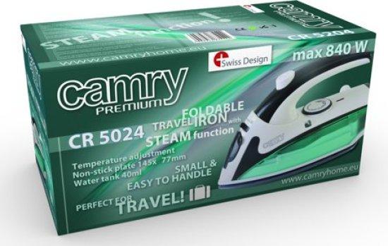 Camry CR 5024 stoom reis strijkijzer