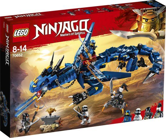 LEGO NINJAGO Stormbringer Draak - 70652