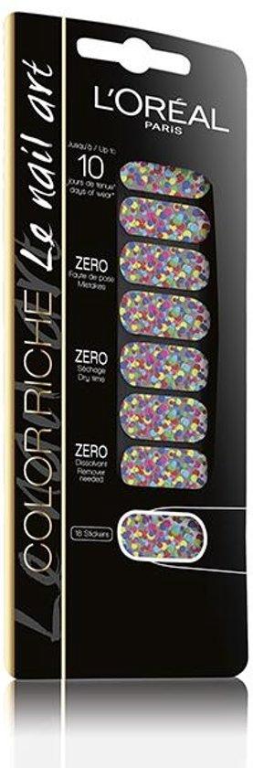 L Oreal Paris Color Riche Nail Art 029 Miss Pop Confetti Roze