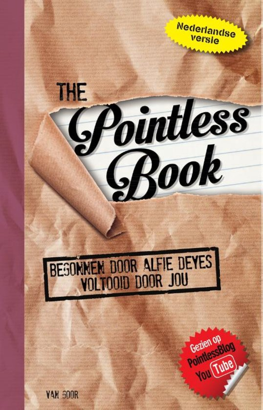 The Pointless Book – Alfie Deyes
