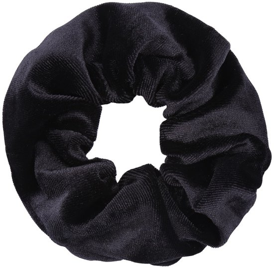 Black Velvet Srunchie