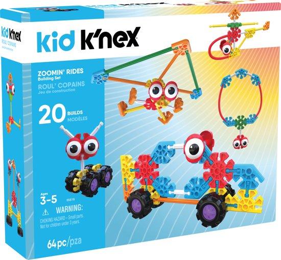 Kid K'NEX Zoomin' Rides - Bouwset