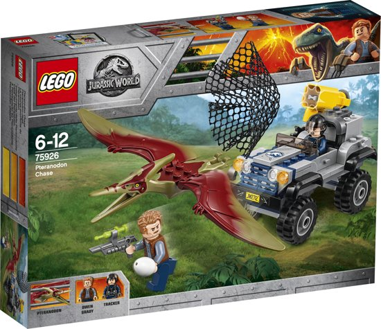 LEGO Jurassic World Achtervolging van Pteranodon - 75926