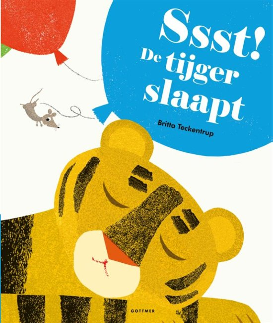 Ssst! De tijger slaapt