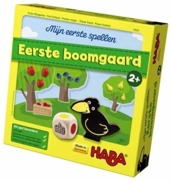 Haba Spel Spelletjes vanaf 2 jaar Eerste Boomgaard