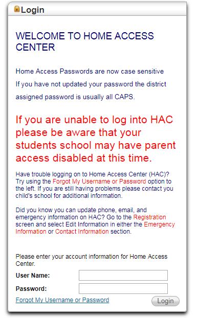 Kisd Home Access Center