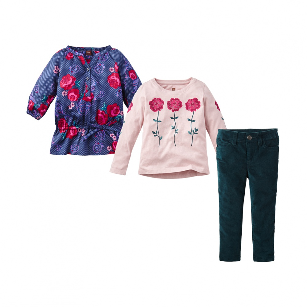 Mix & Match Sets for Girls from Tea Collection