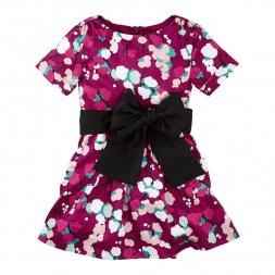 Tea Collection Schneebedeckt Sash Dress