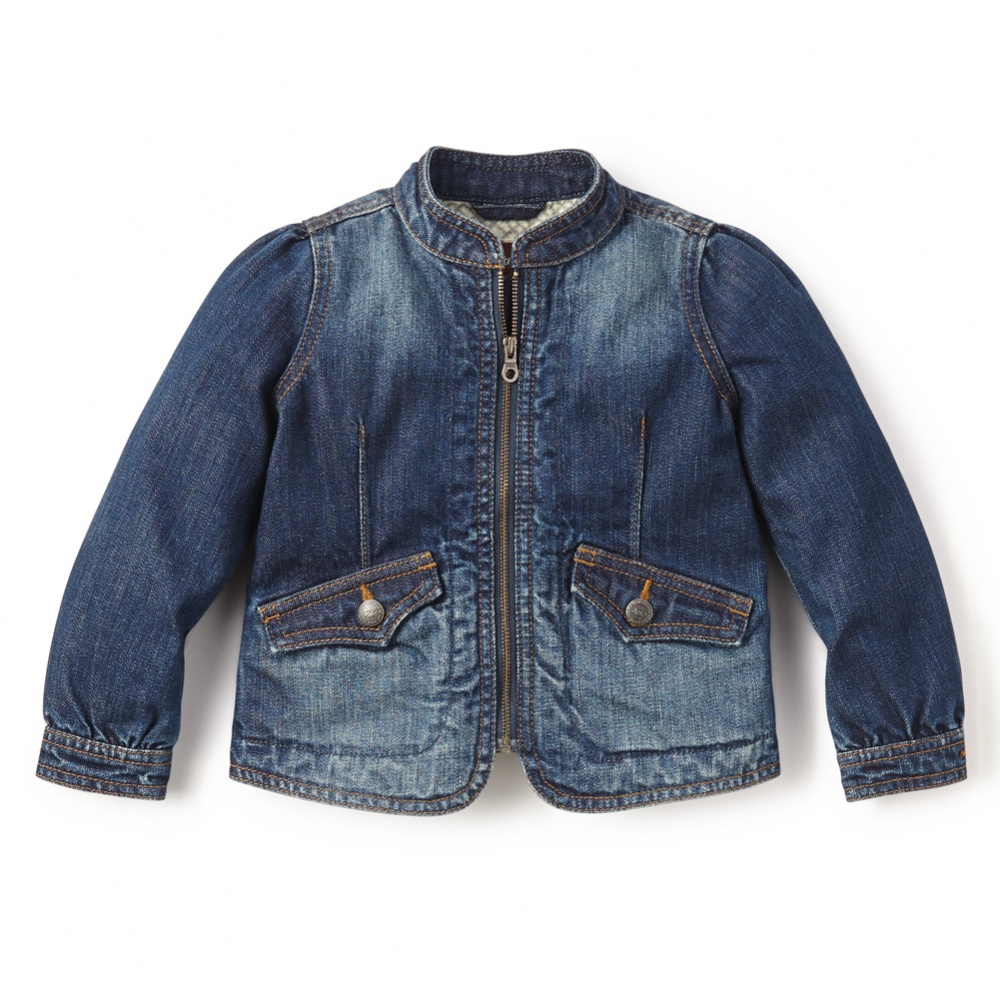 Stylish and Durable Denim for Girls from Tea Collection