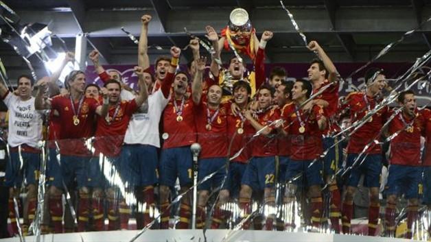 La Roja championne d'europe 2012