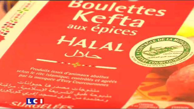 Publicité sur le halal