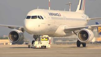 Un Airbus A320 d'Air France.