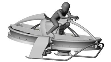 Aerofex Hoverbike 2012