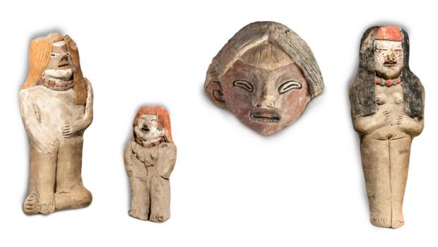 Des statuettes vieilles de 3800 ans découvertes au Pérou