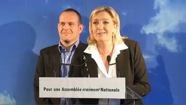 """Marine Le Pen : """"je ne personnalise pas les combats"""""""
