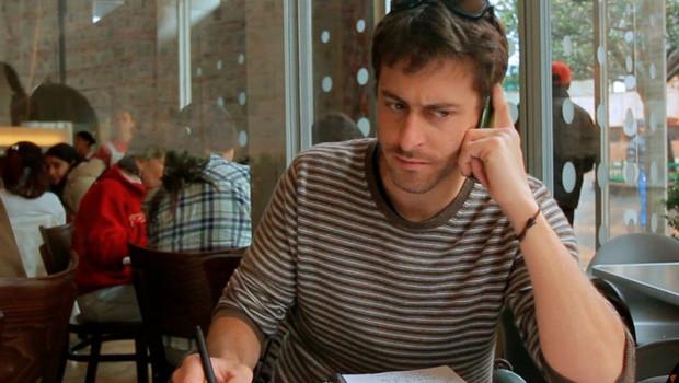 Le journaliste de France 24 Roméo Langlois, en juin 2011