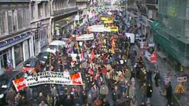 manif fonctionnaires 20 Novembre 2007 Paris