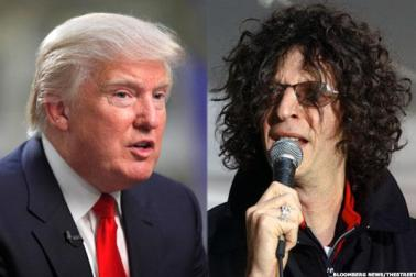 Image result for donald trump with howard stern