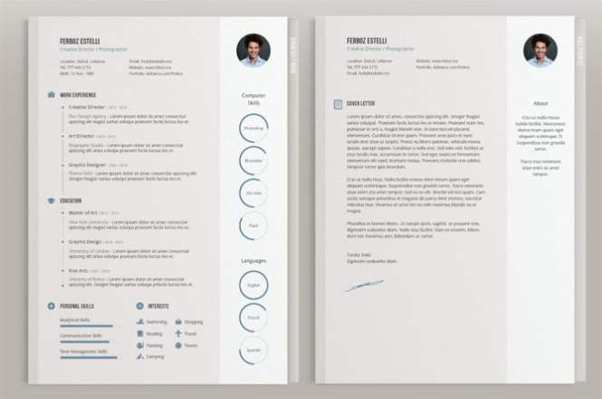 Creative Resume Template Download Free Resume Sample - Resume templates to print for free