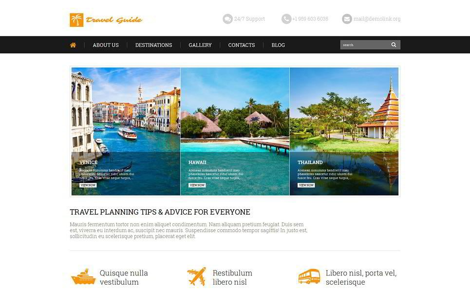 50 Best Selling Tourism & Travel WordPress Themes in 2019