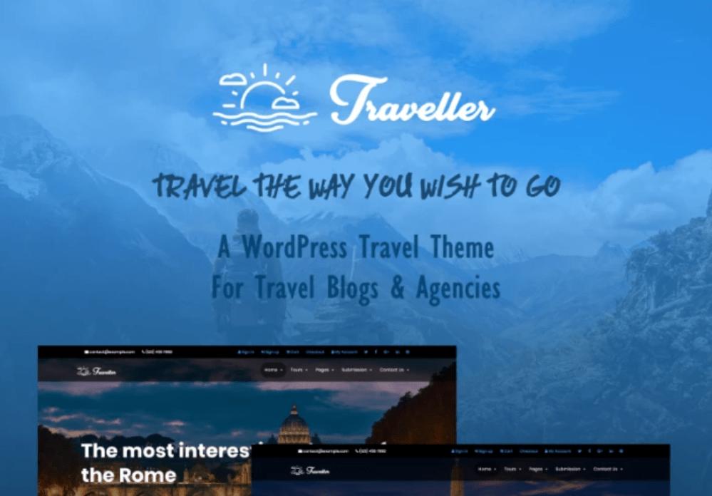 WordPress Maintenance Traveller
