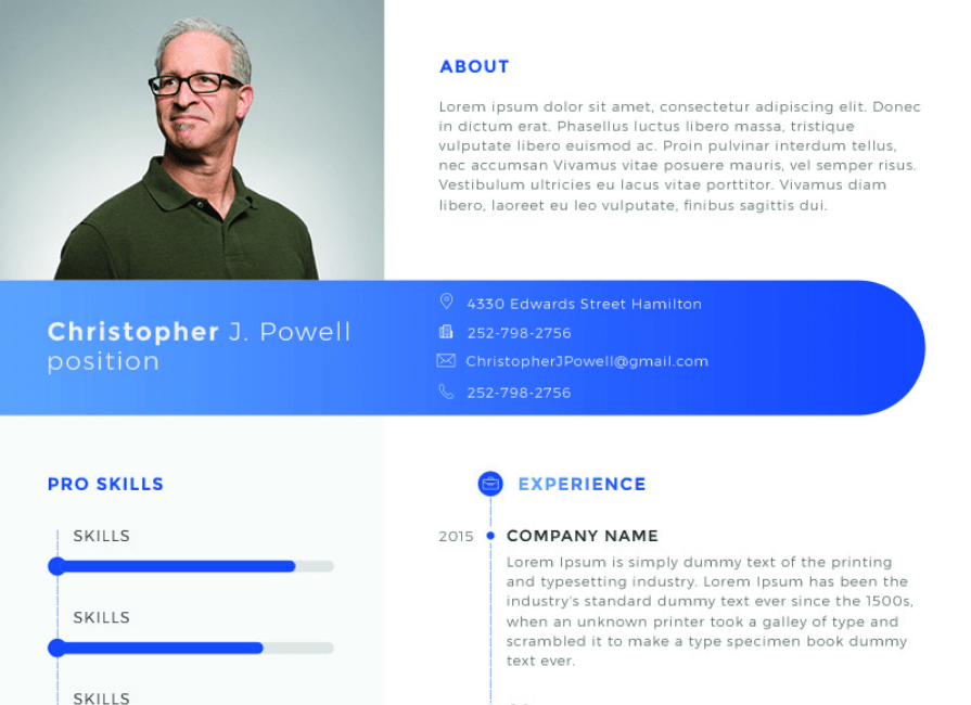 Christopher J. Powell - Clean Resume Template