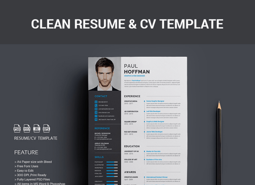 Resume - Paul Hoffman Resume Template