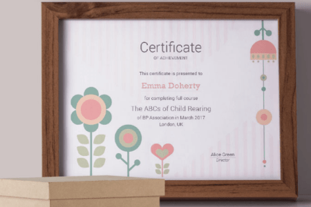 50 Multipurpose Certificate Templates and Award Designs For Business     Kids   Flowers Certificate Template  Download