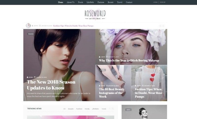 personal-blog-roseworld