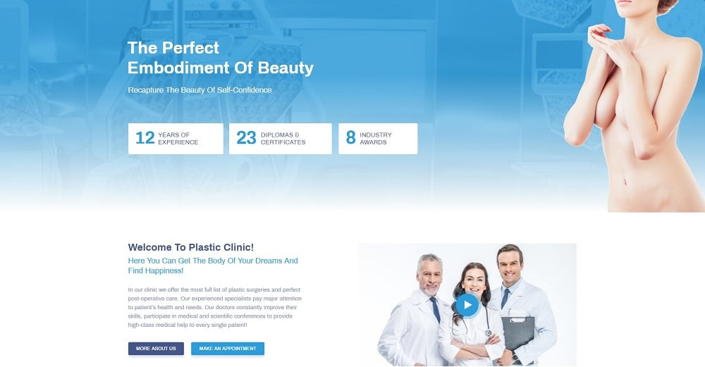 Perfectia - Medical Elementor Template