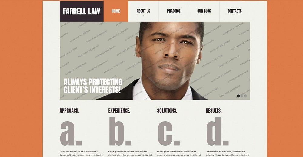 Top 40 Law HTML Website Templates – Browsify Corporation