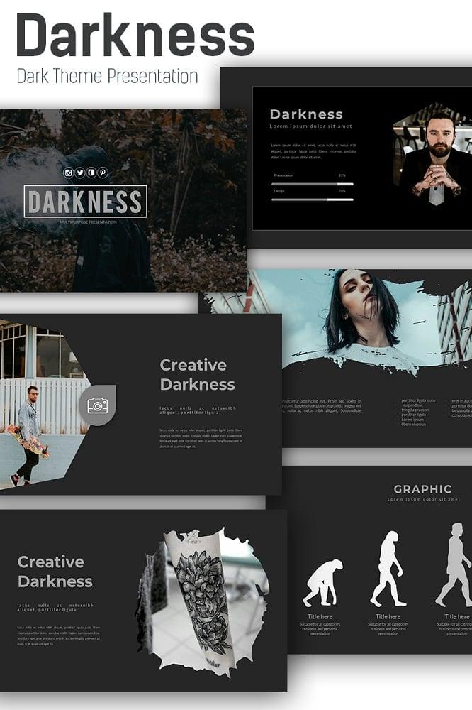 Darkness Keynote Template