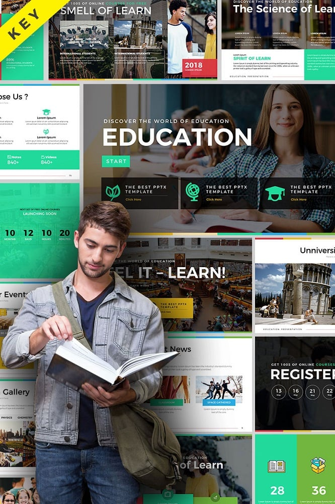 Education Presentation Keynote Template