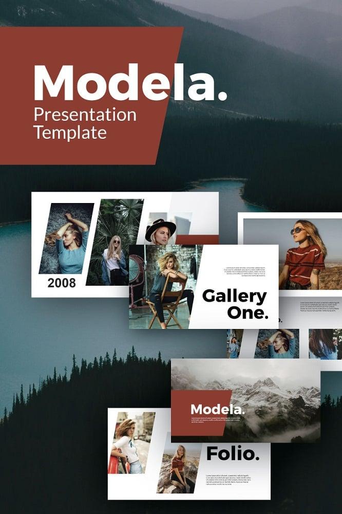 Modela Modern Presentation Keynote Template