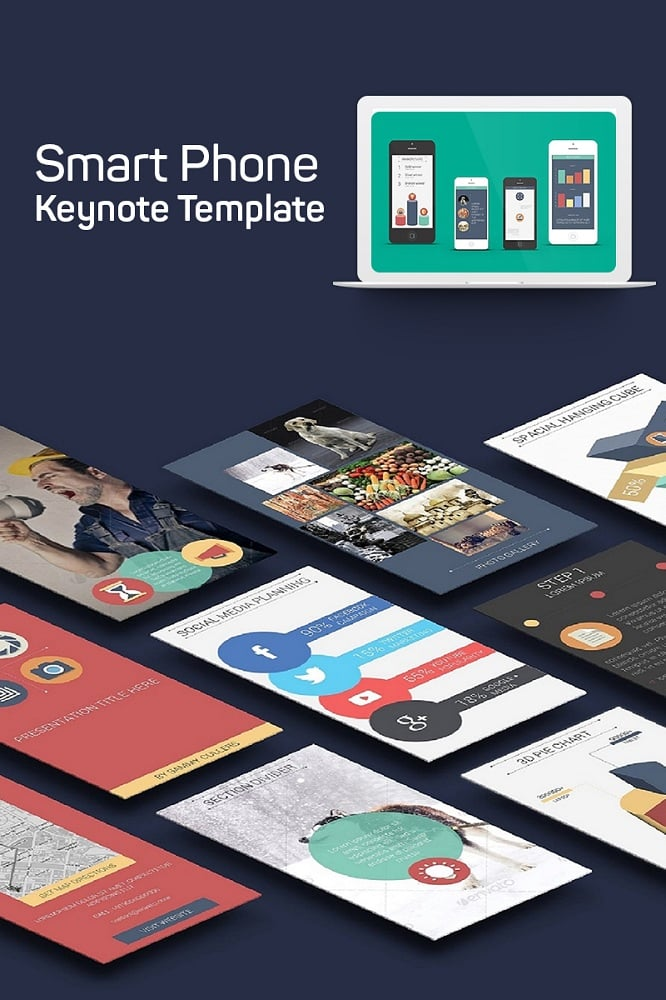 Smart Phone Keynote Template