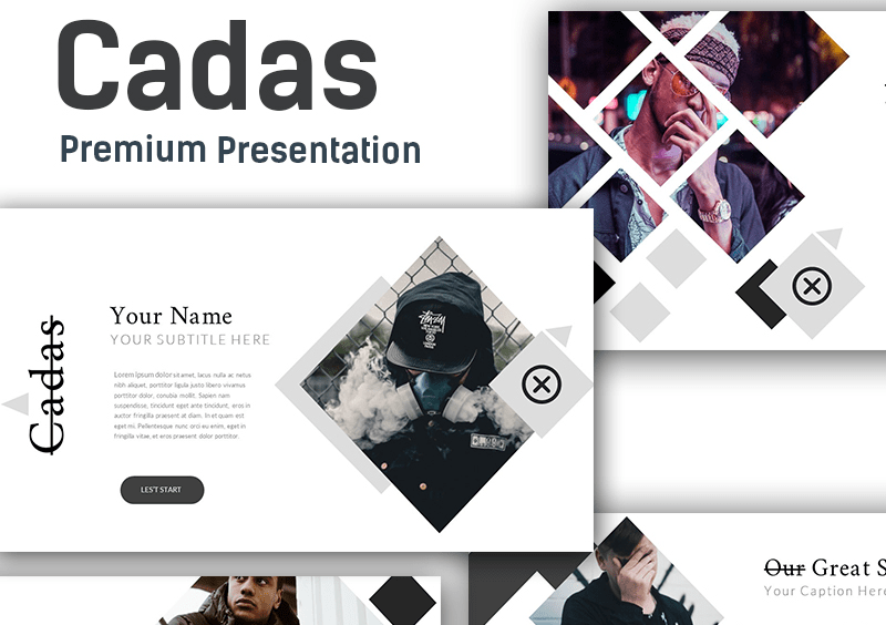 Cadas Creative Google Slides