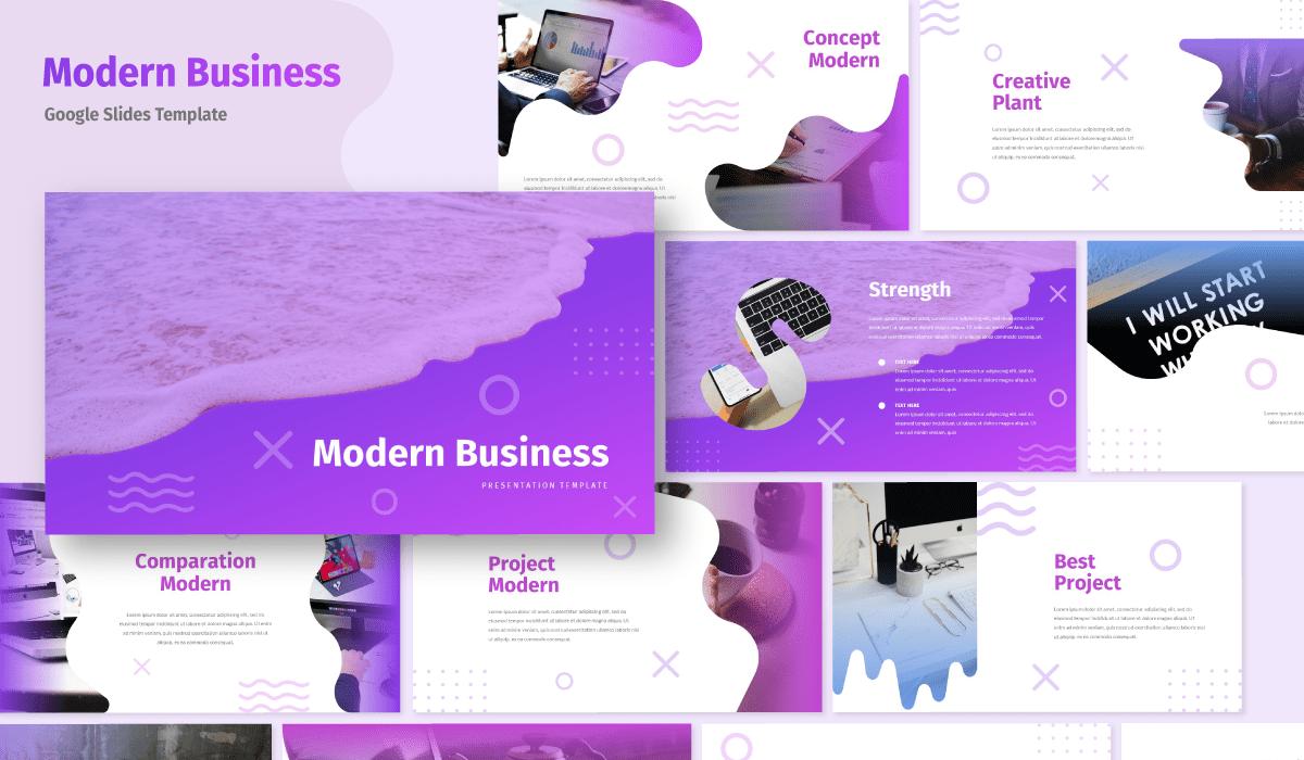 Modern - Business Google Slides