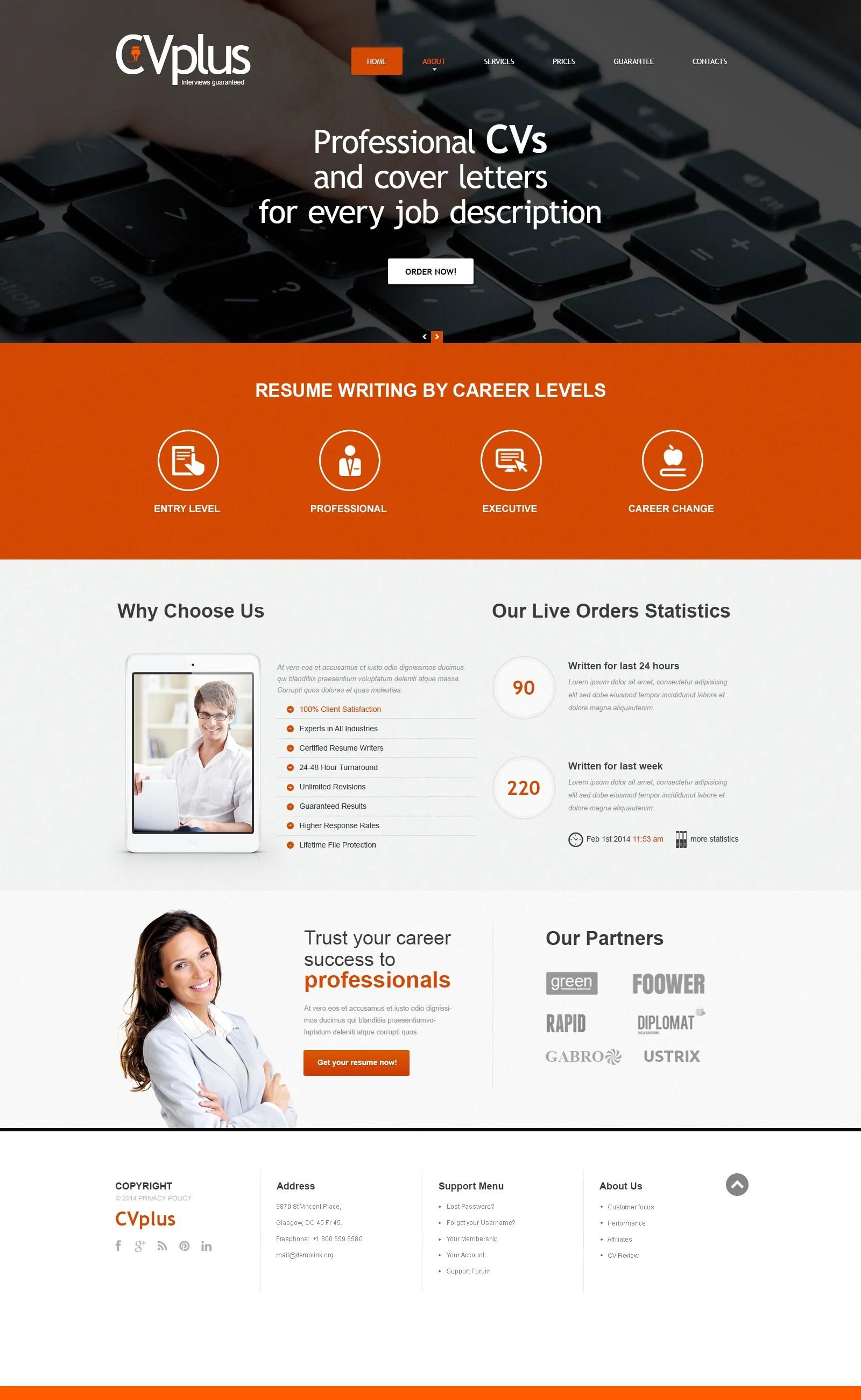 Marketing Agency Responsive Website Template 48618