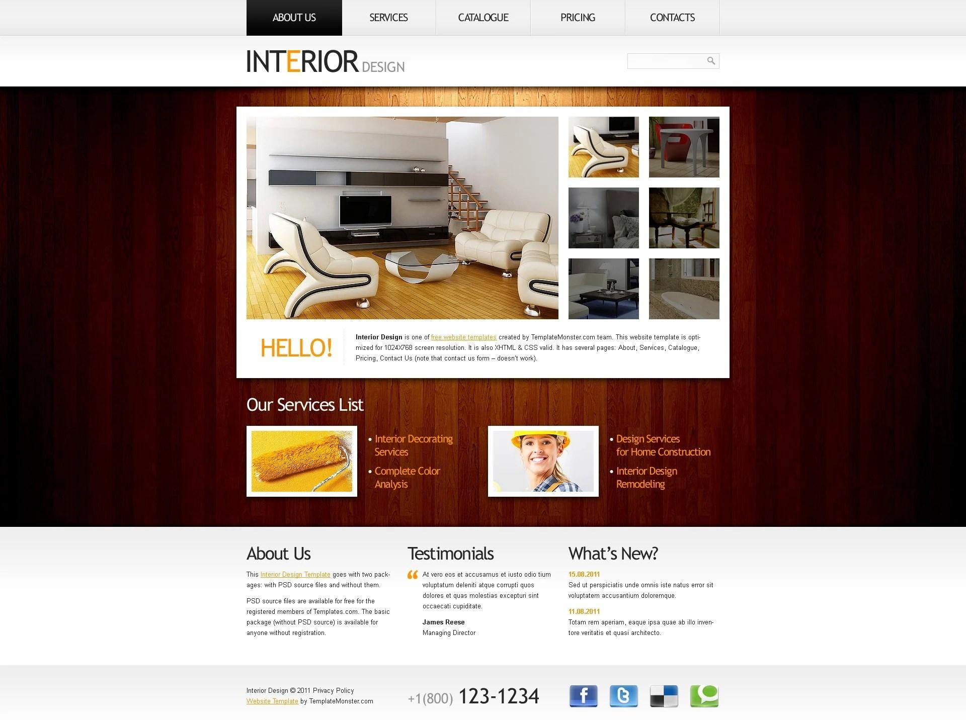 Best Kitchen Gallery: Free Website Template Clean Style Interior of Website Home Design  on rachelxblog.com