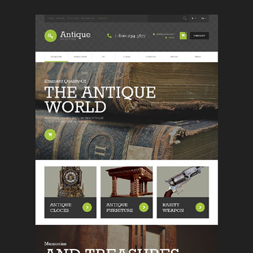 Antique Web Templates Website Templates