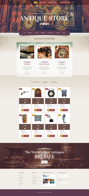 Best Antique Store Prestashop Design 53833 Sale Super Low