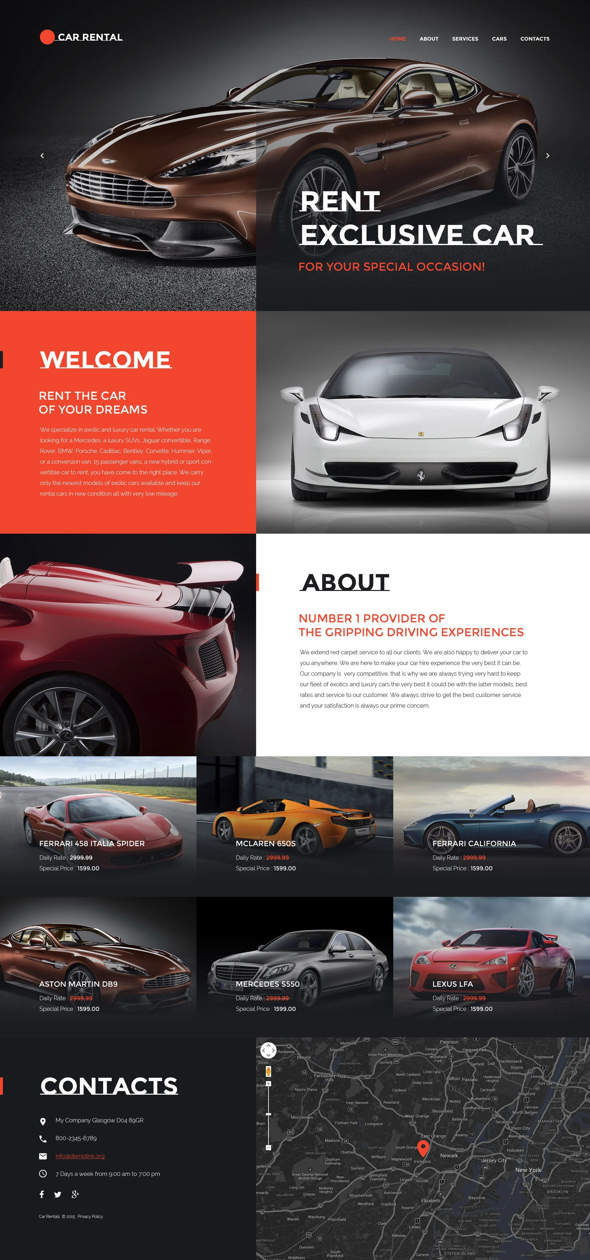 Car Templates Cars Power Free Website Template Free Css Templates
