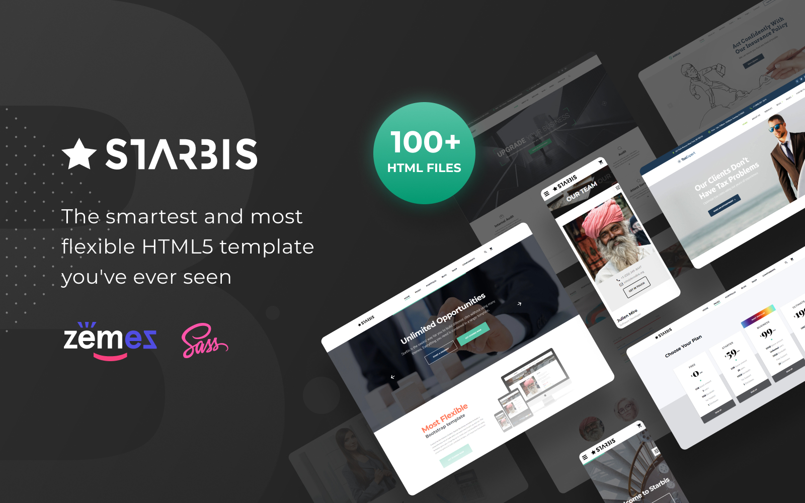 business amp services templates templatemonster