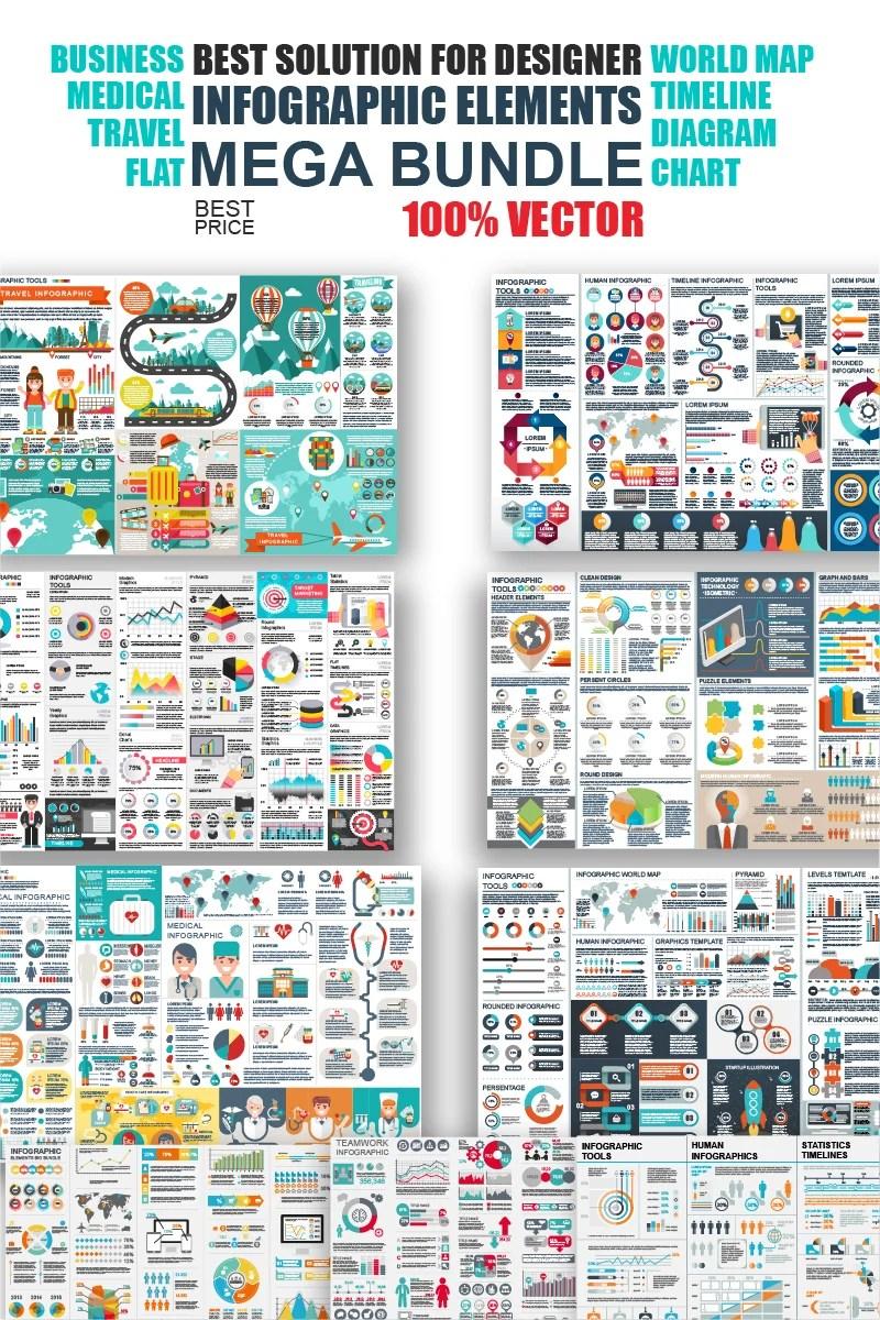 Business Infographic Elements Bundle Infographic Elements 65918